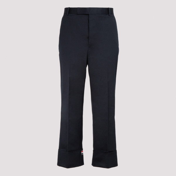 Navy blue cotton pants