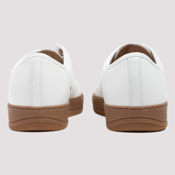 White DBB1 leather sneakers