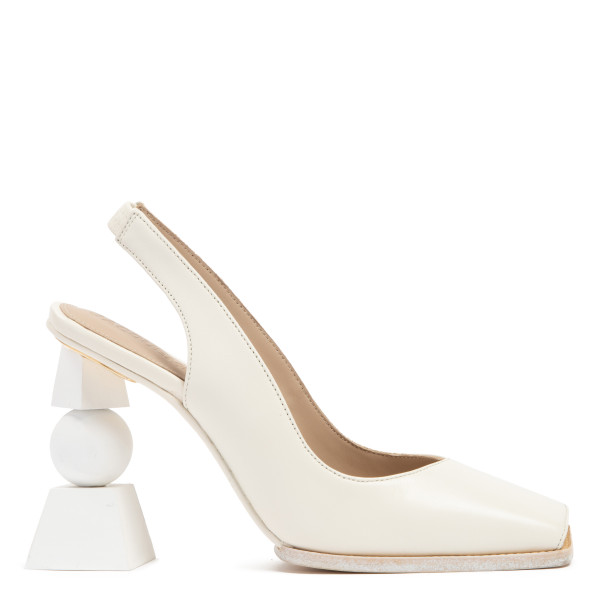 White Les chaussures Valerie