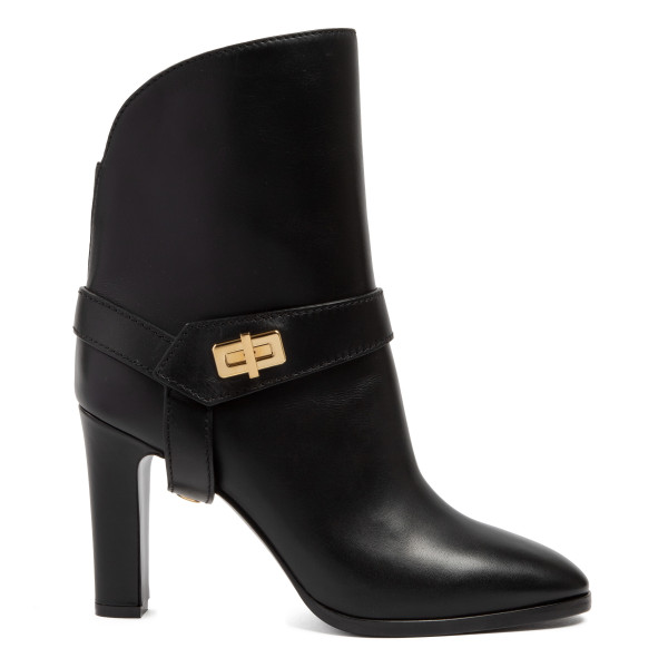 Black Eden leather boots
