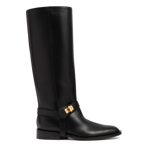 Eden leather knee-high boots