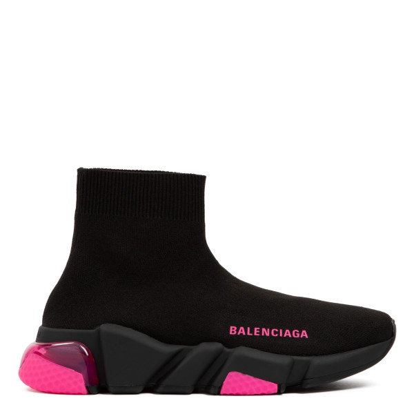 Speed black and pink sneakers