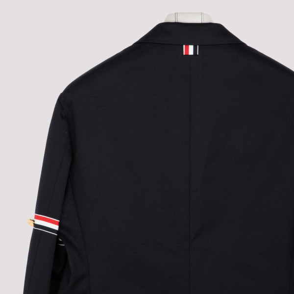 UNCOSTRUCTED CLASSIC  JACKET IN COTTON TWILL