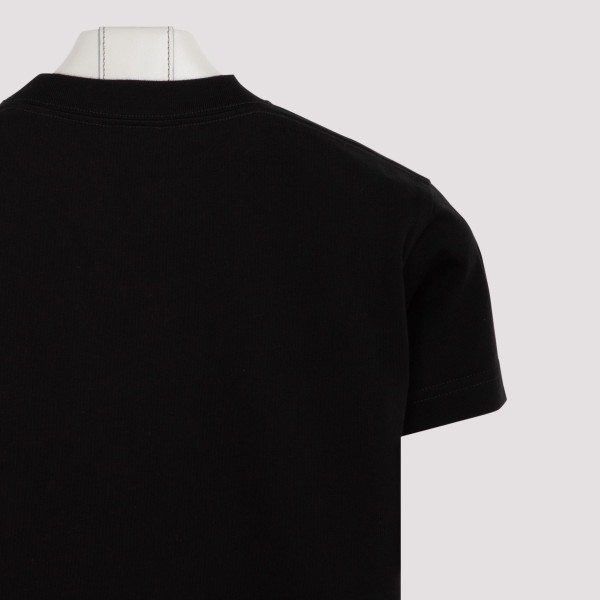 Black club vintage logo T-shirt
