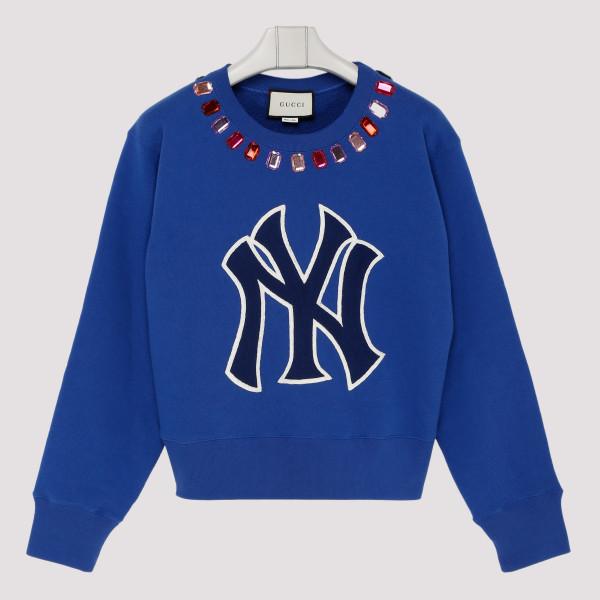 NY embellished sweatshirt