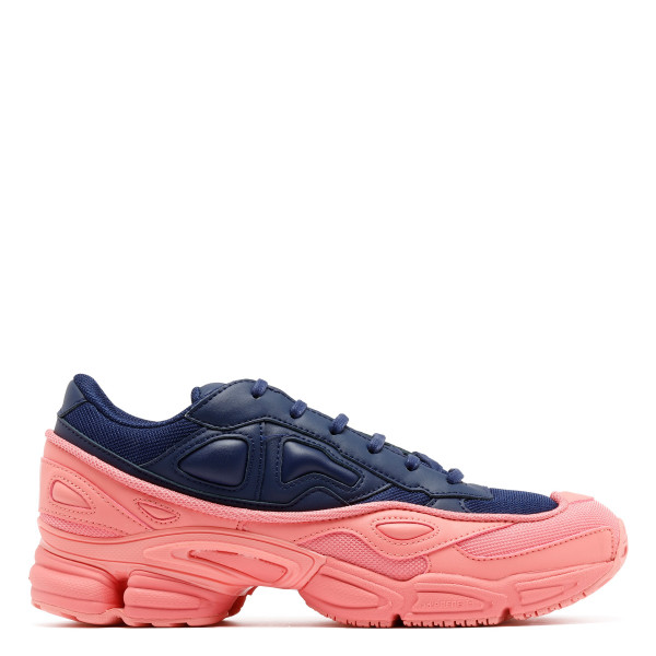 Ozweego pink and navy blue sneakers