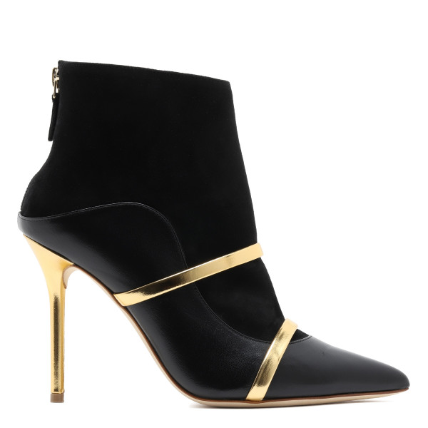 Black Madison 100 suede ankle boots