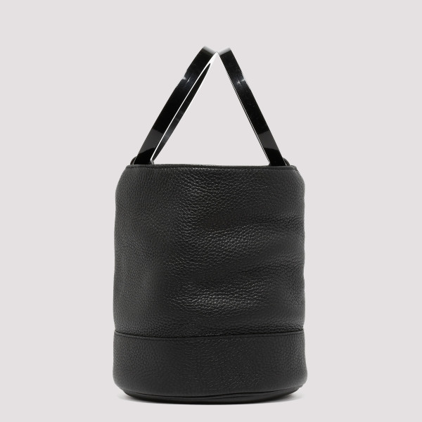 Black Bonsai Medium bucket bag