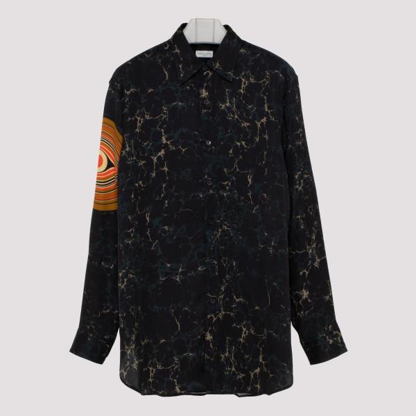 Marble motif shirt
