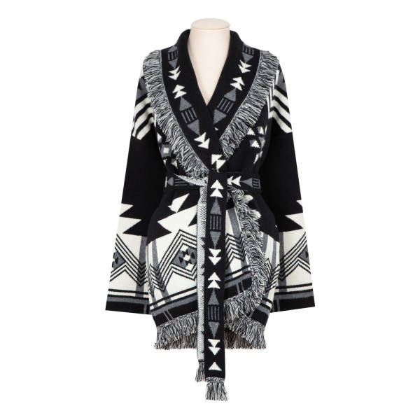 In The Dark wool and cashmere cardigan