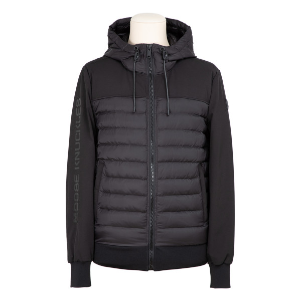 Moutray black down jacket