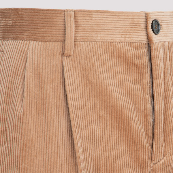 Camel Cotton corduroy pants