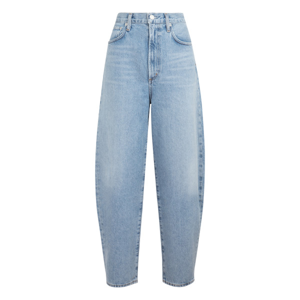 Blue Balloon high-rise tapered jeans