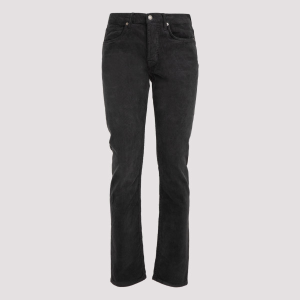 Gray corduroy pants