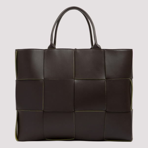 Bottega Veneta FONDENTE BROWN ARCO TOTE BAG
