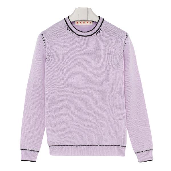 Lilac cashmere jumper