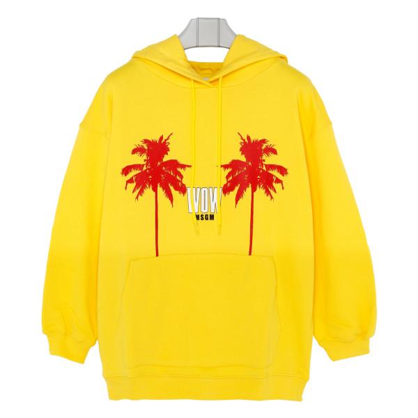 Yellow Wow hoodie