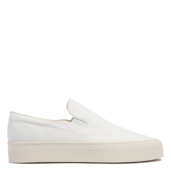 Marie H ivory canvas sneakers