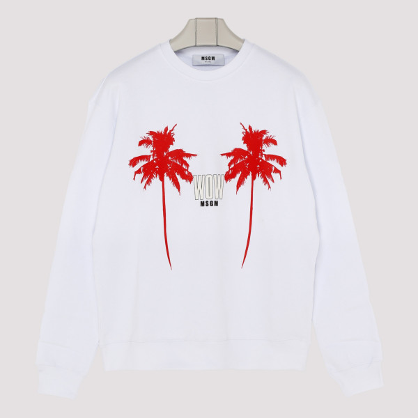 White Wow sweatshirt