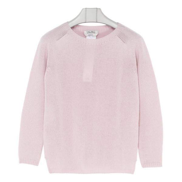 Giorgio pale pink cashmere sweater