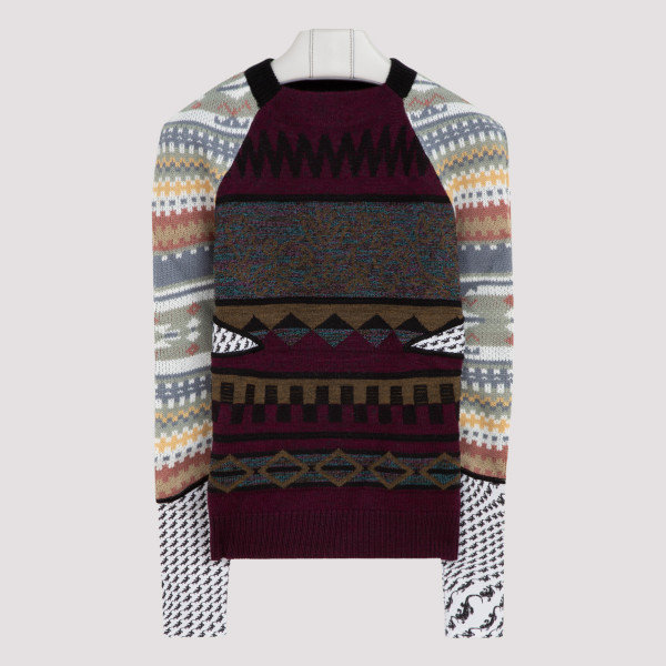 UPCYCLED KNIT JUMPER