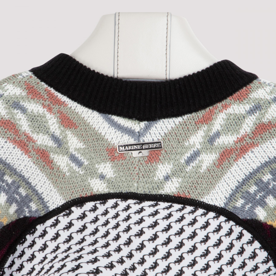 Regenerated upcycled wool sweater