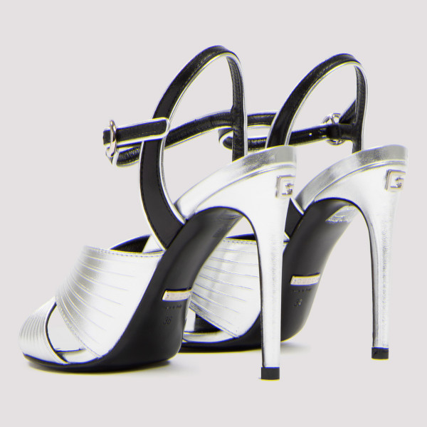 Betsy metallic silver 105 sandals