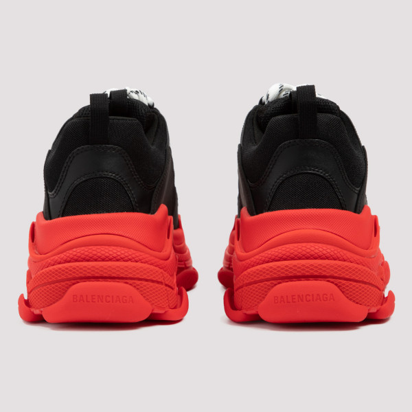 Triple S black and red sneakers
