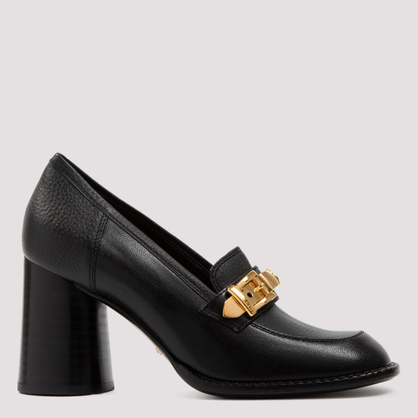 Sylvie black loafers with...