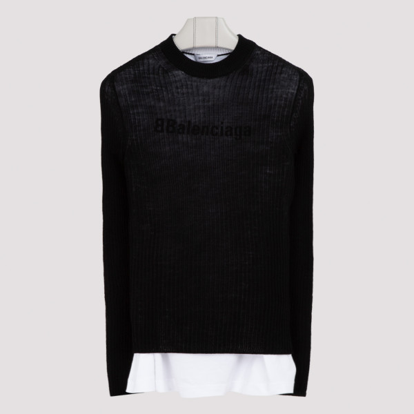 Balenciaga layered sweater