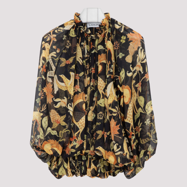 Lanvin printed top