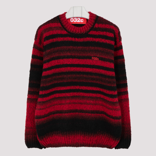 032c Knitted logo sweater