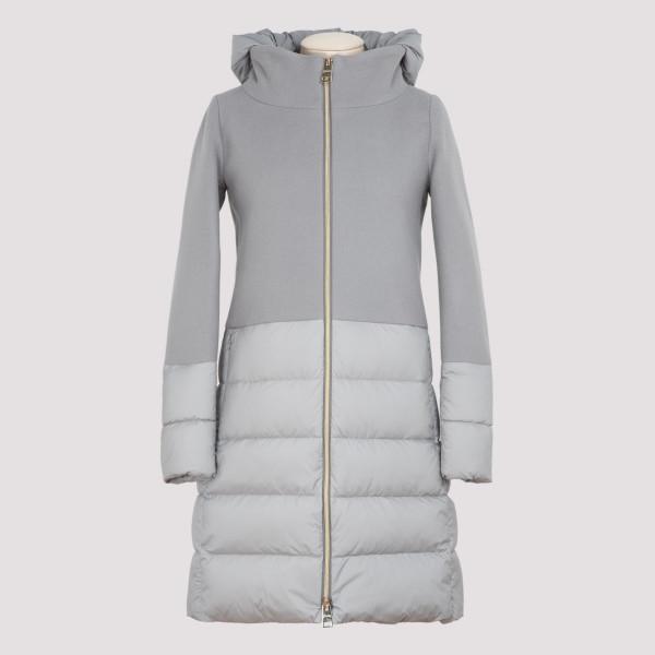Herno padded jacket with wool