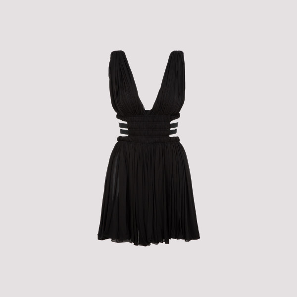 Alaia jersey dress