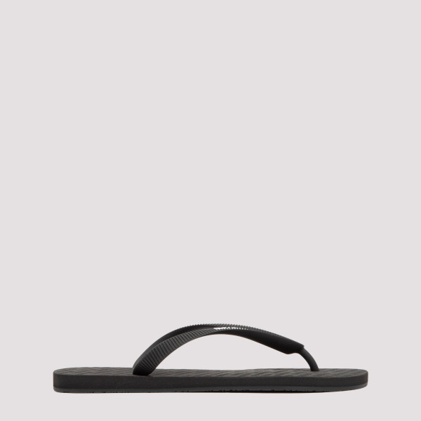 Vetements logo flip flops