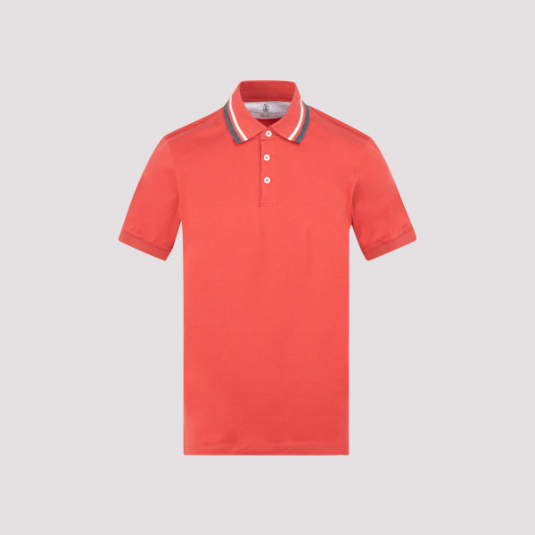 Brunello Cucinelli piquet polo
