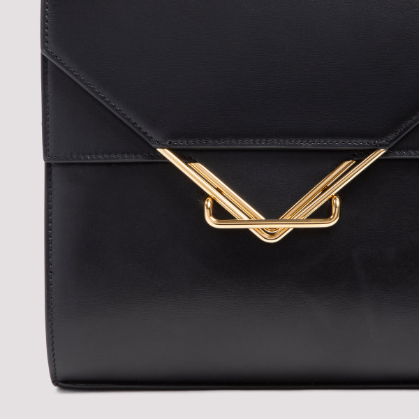 Bottega Veneta Black The Clip Shoulder Bag