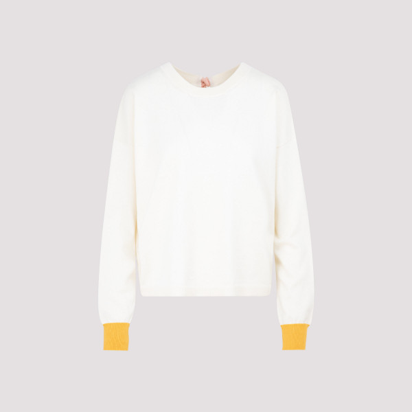 Marni Crew neck sweater with bow