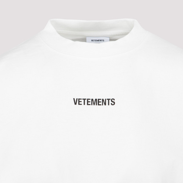 Vetements Logo patch T-shirt