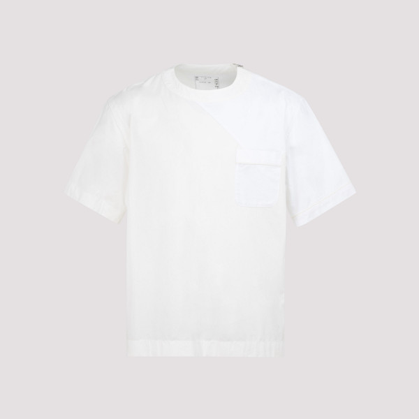 Sacai Cotton Poplin T-shirt