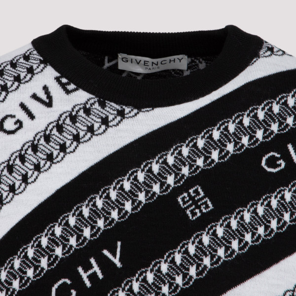 Givenchy Chain Logo sweater