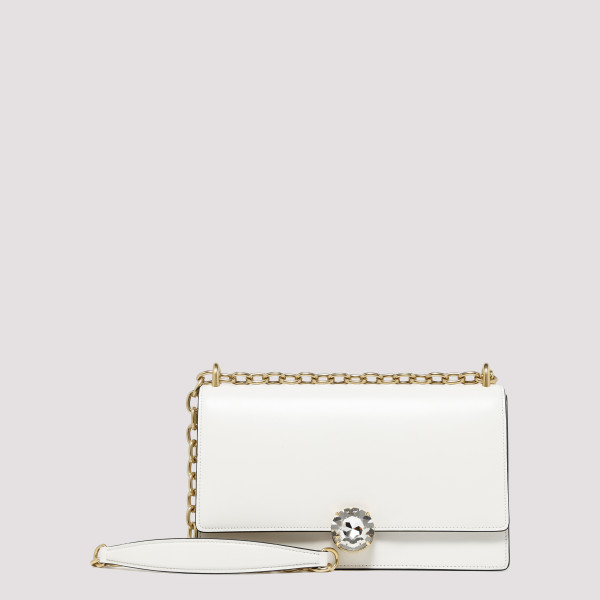 White leather Shoulder Bag