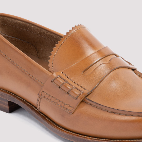 Church`s Pembrey leather loafers