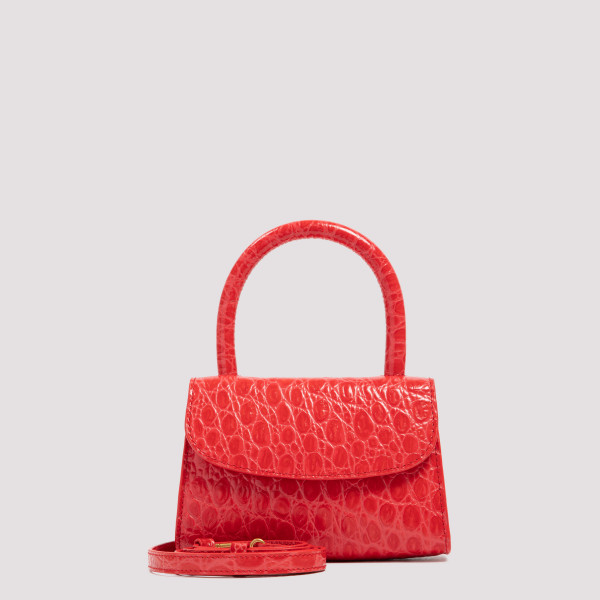 By Far Croco leather bag