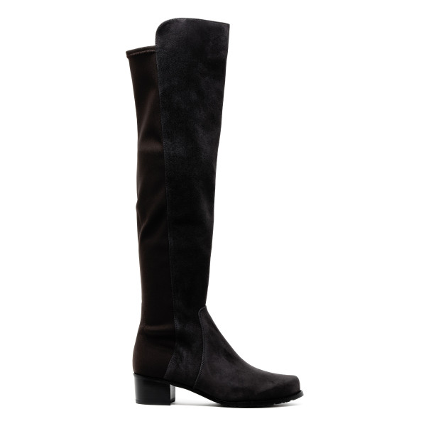 Black Reserve knee high boots