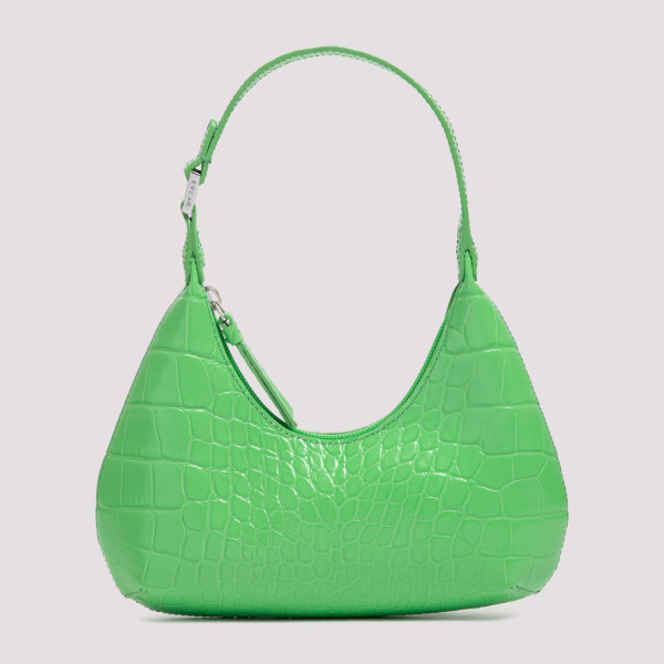 By Far Baby Amber Leather Bag