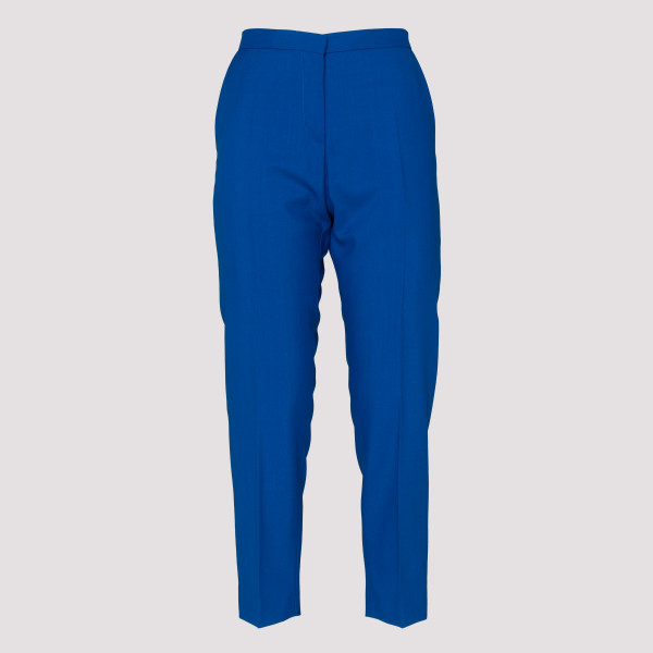 Blue classic tailored pants