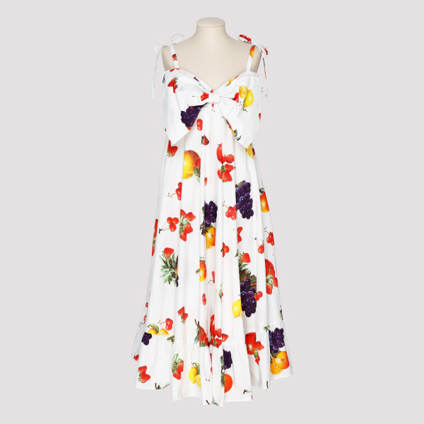 Fruit printed dress