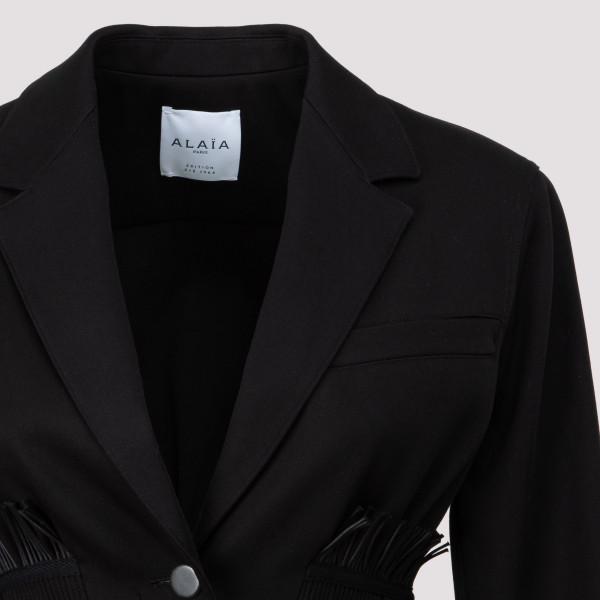 Alaia gabardine jacket