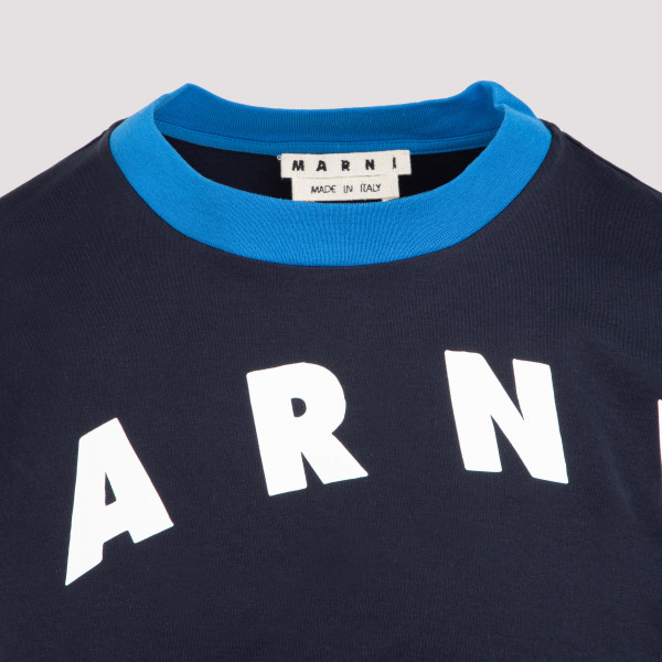 Marni Logo Cotton T-Shirt
